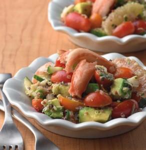 Quinoa Crab Salad