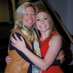 Mother and daughter, Justina Juvonen-Dodge  and Camilla Grover-Dodge.