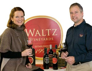 Kim and Jan Waltz will expand their wine business into a new area of the county with the April opening of a location at Kitchen Kettle Village in Intercourse.