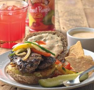 Jamaica: Jerked  Chicken Sandwich