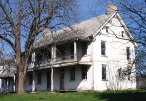 The James Anderson II House is on this year's Watch List. Built by Anderson in the mid-1780s, the house, which is located in East Donegal Township, was willed to his grandson, James Anderson IV (he laid out the Waterford area of Marietta in 1812). The house was sold out of the family in 1803. Additions made to the house date to 1810 and 1835. Today it's in need of significant repairs, hence its appearance on the Watch List.