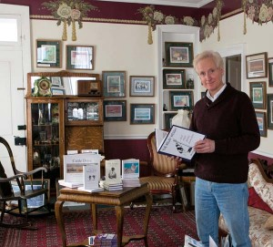 Bruce Garrabrandt's finely detailed pencil drawings are on display at The Artist's Inn & Gallery, a bed-and-breakfast he and his wife Jan own in Terre Hill.