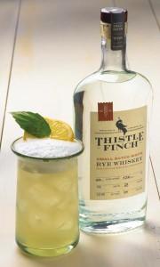 Lemon Pepper Rye using White Rye Whiskey