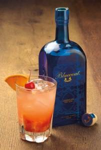 Old Fashioned using Bluecoat Gin