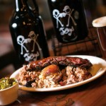 JoBoy's Sampler for Two includes brisket, chicken, pulled pork, a half rack of ribs and a choice of four sides. Hand-crafted beer is made on the premises; selections include both year-round and seasonal brews (Lititz Springs Lager is a customer favorite).
