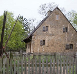 The 1719 Hans Herr House is Lancaster County's oldest surviving homestead.