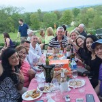 Patrons of a wine-trail event enjoy themselves at The Vineyard & Brewery at Hershey. Photo courtesy of The Vineyard & Brewery at Hershey.