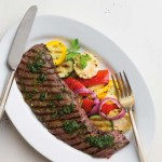 Minute Steak with Summer Veggies