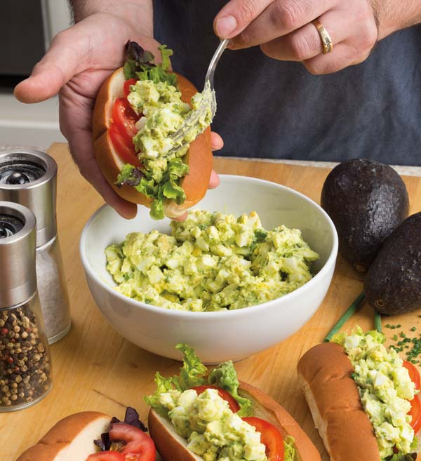 Egg & Avocado Salad Sandwich - Lancaster County Magazine