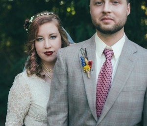 Kelly names the movie Robin Hood: Prince of Thieves as the inspiration for her wedding. Kate L. Jeffreys Photography.