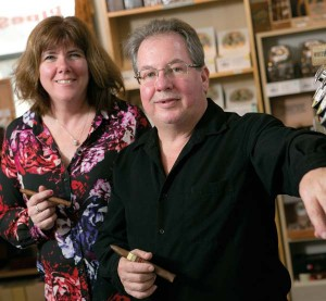 Lauren and David Patrick of John Hay Cigars