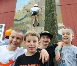 Endless opportunities and activities abound at Camp Shand, ensuring no camper will complain of boredom. Photo courtesy of Camp Shand/Lancaster Family YMCA.