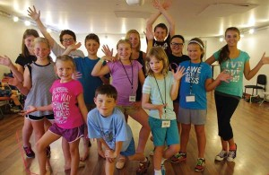 Campers in search of a creative outlet can explore the various facets of theatrical productions at EPAC's Center Stage Theater Camp. Photo courtesy of Ephrata Performing Arts Center.