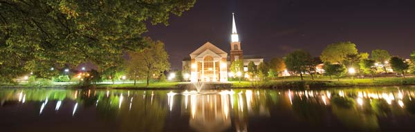 """Elizabethtown College was chartered in 1899 by members of the Church of the Brethren. The college's commitment and motto is to """"educate for service."""" Photo courtesy of Elizabethtown College."""