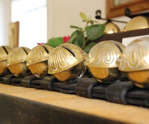 Smucker Harness Company is known for its famous harness bells. Photo by Briana W. Hess.