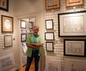 The work of artist Dale Weibley is exhibited at the Jonal Gallery, which he owns with his husband, John Novak. 653 Locust St. Jonalgallery.com.