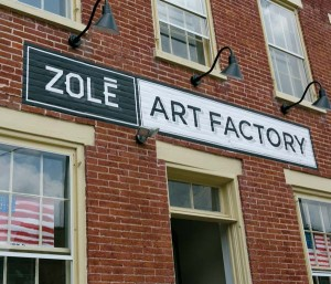 Makers at the Zolé Art Factory create furnishings, jewelry and gift items, which are sold in its retail locations. Classes, workshops and painting parties are also offered. Shopzole.com.