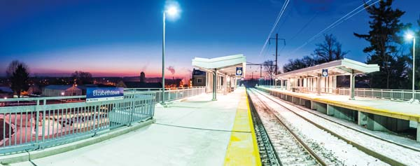 Renovations to the Elizabethtown Amtrak Station started in August 2009. The station was completed in 2011 and is now a source of pride in the area.