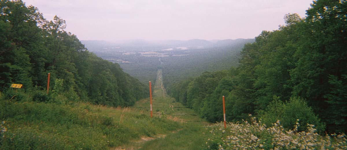 Cove Mountain leaves little to the imagination; from the top, the town of Duncannon, the Susquehanna River and Peters Mountain are all visible.