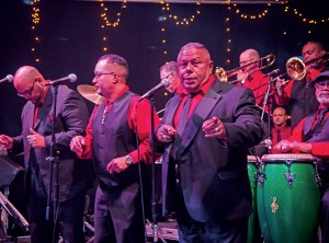 The PA Mambo Orquesta provided the Latin flavor for dancing.