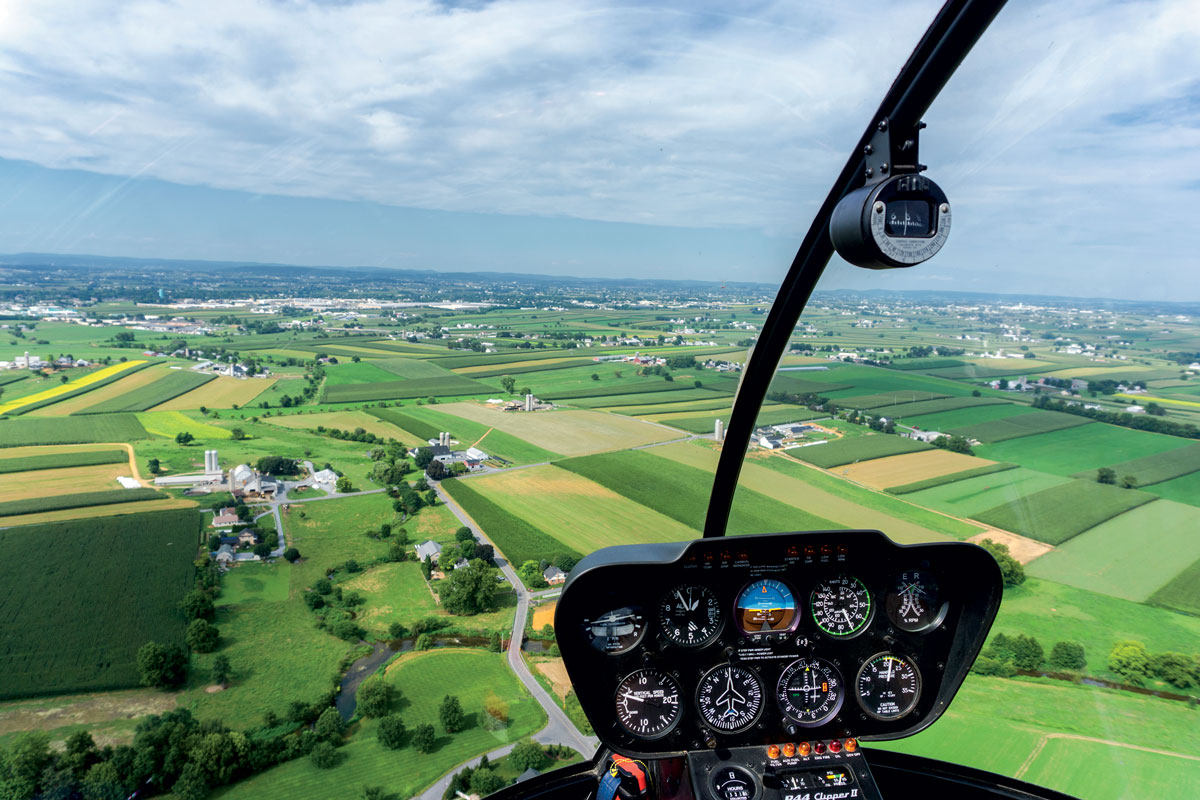 Helicopter Tour View