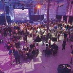 Special effects – provided by the area's amazing creative resources, including Atomic Design, Beame, Arethusa Designs, Tait Towers and Clair Global – made for an animated and visually active party.