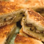 Grilled Cheese Hors d'sandwich