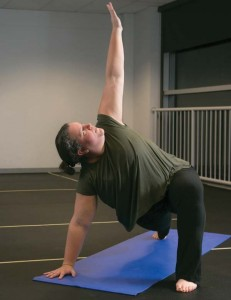 A Triangle Pose