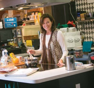 Zest! owner Sharon Landis started teaching cooking classes years ago.