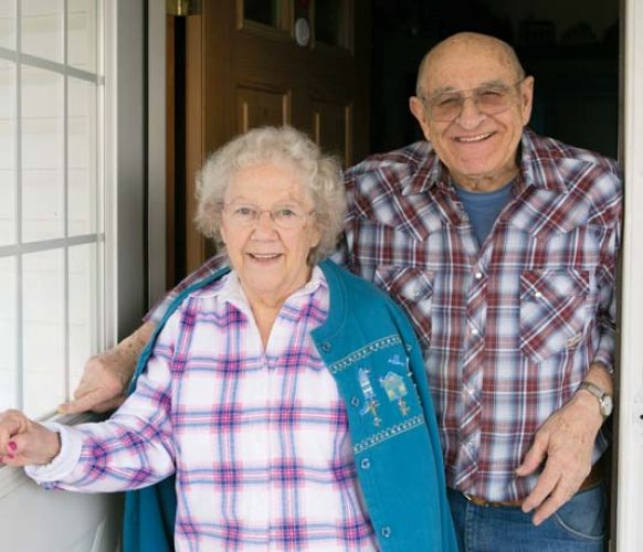 Larry and his wife, Retta, have been happily married for 60 years. In February, they celebrated the milestone by renewing their vows in a ceremony that is held annually at Masonic Village in Elizabethtown.