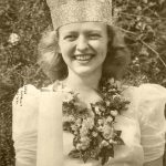 Pauline Moyer Keenan had the honor of being the first Queen of the Candles (1942). Her crowning was seen in millions of American homes thanks to Life magazine, which ran a story about Lititz's Fourth of July event in its July 26, 1943, issue. Pauline, who resided in Sheboygan, Wisconsin, returned to Lititz in 2001 to serve as the grand marshal of the Fourth of July Parade and to assist with the crowning of that year's queen. She passed away in February 2007.