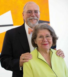 Mayor Richard Gray and his wife, Gail