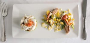 Seafood has been given more of an emphasis on The Log Cabin's new menu.