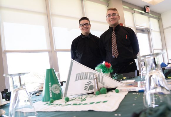 Blake Anderson; he will be attending Indiana University of Pennsylvania, where he plans to take courses in the culinary arts and business management.  Austin Lauver; he will be attending HACC, where he plans to focus on business management courses.