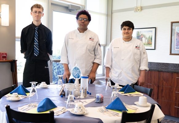 Ben Stewart: he has secured a job with Willow Valley Communities.  Daryl London: he will be attending IUP, where he will focus on courses in the culinary arts and hospitality.  Justin Ilkhanoff: he will be attending the Culinary Institute of America (Hyde Park, NY campus).