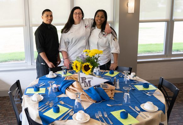 Jacob Lebron: he is working at the John Wright Restaurant in Wrightsville.  Filomena Fulmer; she will be attending YTI.  Shamia Pagan: she will be attending Johnson & Wales in Providence, Rhode island.